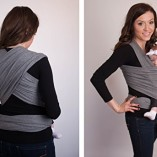 4-in-1-CuddleBug-Baby-Wrap-Carrier-Soft-Baby-Carrier-Baby-Sling-Carrier-Postpartum-Belt-Nursing-Cover-Best-Baby-Shower-Gift-Grey-0-6