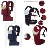 BBCL296-New-Red-Front-Back-Baby-Safety-Carrier-Infant-Comfort-Backpack-Sling-Wrap-Harness-0-1