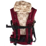 BBCL296-New-Red-Front-Back-Baby-Safety-Carrier-Infant-Comfort-Backpack-Sling-Wrap-Harness-0-2