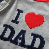 Baby-Boys-Long-Sleeves-Hoodie-Romper-I-Love-Mom-and-Dad-Bodysuit-0-0