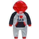 Baby-Boys-Long-Sleeves-Hoodie-Romper-I-Love-Mom-and-Dad-Bodysuit-0