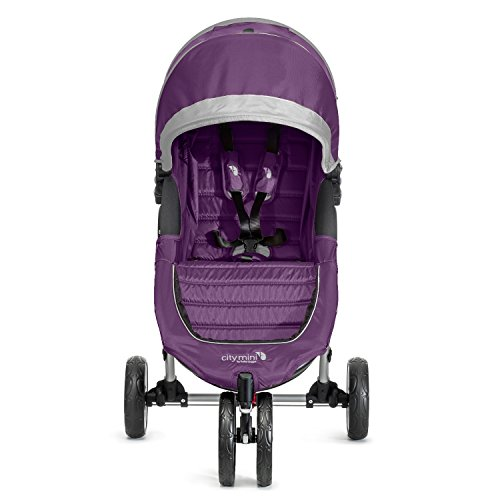 Baby Jogger City Mini Single Stroller Purple