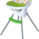 Bebe-Style-Deluxe-3-in-1-Modern-Highchair-Junior-Chair-and-Booster-Green-0