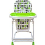 Bebe-Style-Modern-HiLo-Adjustable-Recline-Highchair-Green-0-0