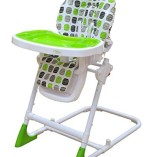 Bebe-Style-Modern-HiLo-Adjustable-Recline-Highchair-Green-0