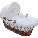 Cuddles-Collection-Dimple-Dressing-on-Moses-Basket-White-0