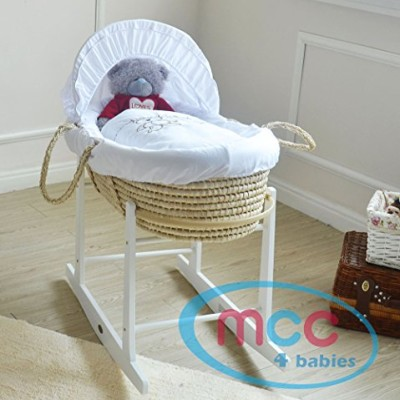 Full-Set-Natural-Palm-Moses-Basket-With-Mattress-Cover-and-Rocking-Stand-0