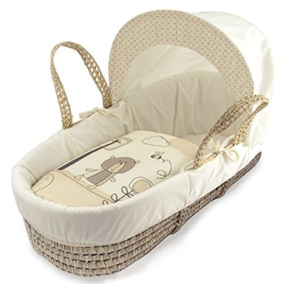 Kinder-Valley-Tiny-Ted-Moses-Basket-Cream-0