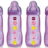 MAM-Baby-Bottle-with-Fast-Flow-Teat-330-ml-Pack-of-4-Pink-0