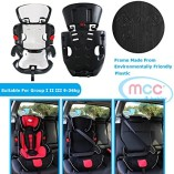Mcc-3in1-Convertible-Baby-Child-Car-Safety-Booster-Seat-Group-123-9-36-kg-PINK-GREY-ORANGE-RED-BLUE-SPOTTED-LEOPARD-Spotted-0-2