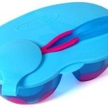 ON-THE-GO-Travel-Baby-Feeding-Bowl-Set-with-Lid-Pink-Colour-0