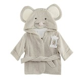Scheppend-Baby-Boy-Girl-Cotton-Infant-Animal-Hooded-Bath-Beach-Towel-Bathrobe-Grey-0-0