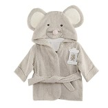 Scheppend-Baby-Boy-Girl-Cotton-Infant-Animal-Hooded-Bath-Beach-Towel-Bathrobe-Grey-0