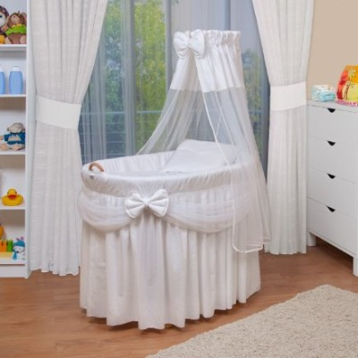WALDIN-Baby-wicker-cradle-Moses-basket-4-colours-availablewhite-0