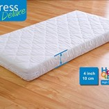 White-Solid-Wood-Baby-Cot-Bed-4-inch-Deluxe-Foam-Mattress–3-Position-Base-Heights–RRP190–FREE-UK-Delivery-0-1