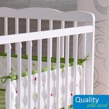 White-Solid-Wood-Baby-Cot-Bed-4-inch-Deluxe-Foam-Mattress–3-Position-Base-Heights–RRP190–FREE-UK-Delivery-0-3