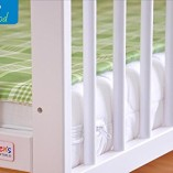 White-Solid-Wood-Baby-Cot-Bed-4-inch-Deluxe-Foam-Mattress–3-Position-Base-Heights–RRP190–FREE-UK-Delivery-0-5