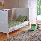 White-Solid-Wood-Baby-Cot-Bed-Deluxe-Foam-Mattress-Converts-into-a-Junior-Bed–3-Position–FREE-UK-Delivery-0-2