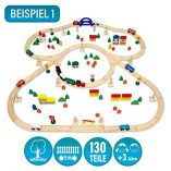 12075-Wooden-Train-Set-130-Pieces-More-than-5-m-of-Tracks-Compatible-with-Brio-Eichhorn-Ikea-Thomas-etc-0-0