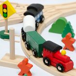 12075-Wooden-Train-Set-130-Pieces-More-than-5-m-of-Tracks-Compatible-with-Brio-Eichhorn-Ikea-Thomas-etc-0-4
