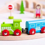 Bigjigs-Rail-Wooden-Figure-of-Eight-Train-Set-0-0