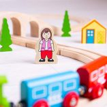 Bigjigs-Rail-Wooden-Figure-of-Eight-Train-Set-0-1